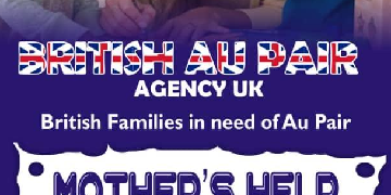 Live-in Au Pairs& Mothers Help Wanted!!!