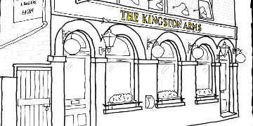 Kingston Arms Freehouse. logo