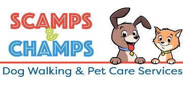 Scamps & Champs logo