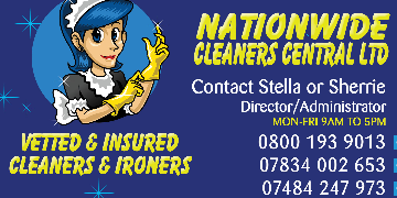 £9-£11 PH DOMESTIC CLEANER/CLEANING JOBS AVAILABLE NOW RUSHDEN CASH PAID