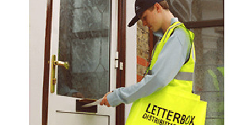 LEAFLET DISTRIBUTORS FOR WED & THURS ONLY - CASH PAID