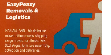 Eazypeazy logistics van driving job MULTI DROP deliveries working with DPD DPD DPD