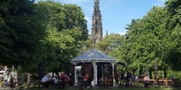 Barista wanted for outdoor cafe in Edinburgh city centre