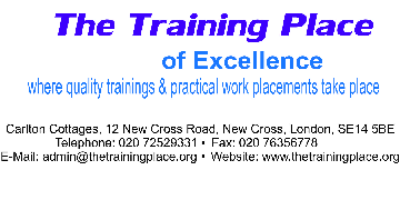 The Training Place Of Excellence Ltd