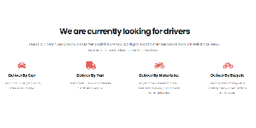 Casual Delivery Drivers Wanted - Full Time / Part Time / Immediate Start - No Experience Required!