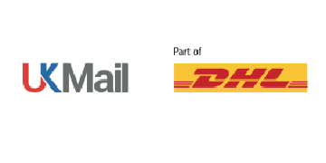 Wdw ltd part of ukmail and dhl  logo