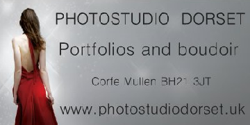 Model for Corfe Mullen photographic studio