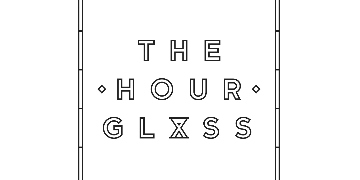 Hello The Hour Glass logo