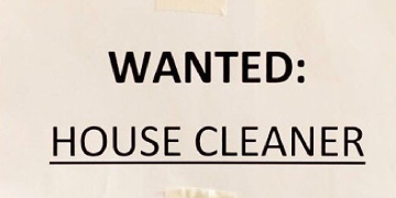 Private Cleaner Required For Individual Household