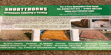 Labours paving fencing
