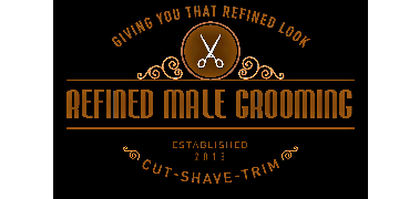 Refined male grooming logo